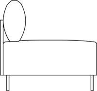 Sofa 1-seater