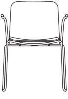 Armchair, fully upholstered