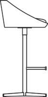 Bar stool 730-57