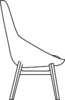 Wood High chair 532-86