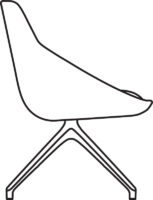 Chair Low, 538-81