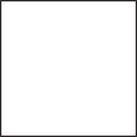 Table 600 x 600 mm, height 1100 mm, white compact laminate