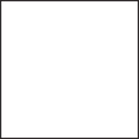 Table 700 x 700 mm, height 1100 mm, white compact laminate