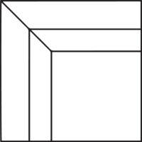 90° corner section