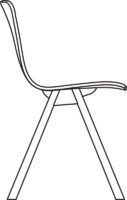 Chair, non-upholstered