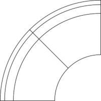 Sofa, quarter circle