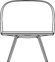 High, easy chair
