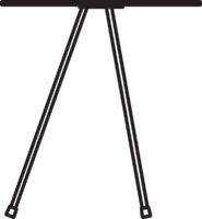 Table, Ø370 mm, höjd 400 mm