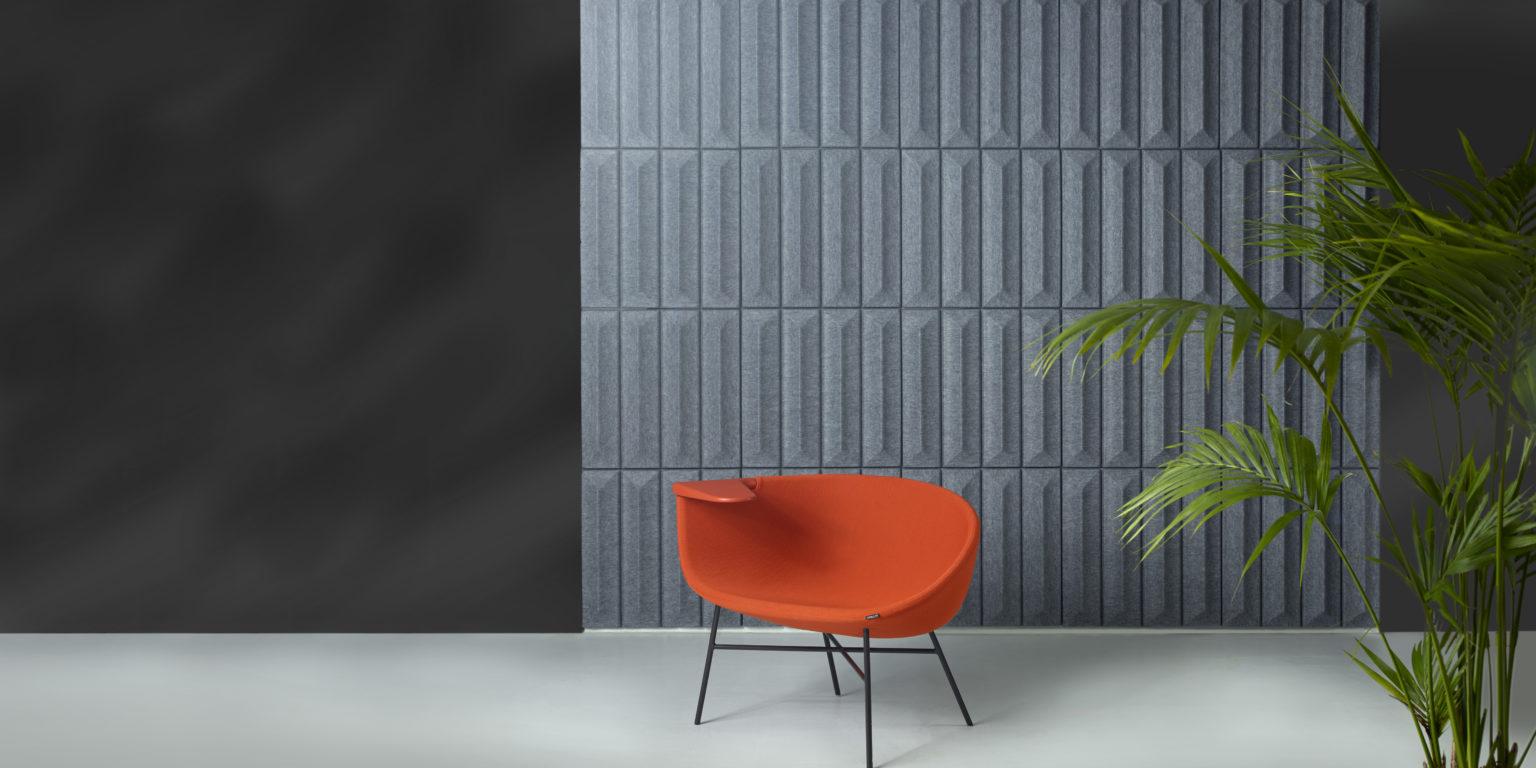 Soundwave 169 Ceramic Thomas Sandell Acoustic Wall Panel