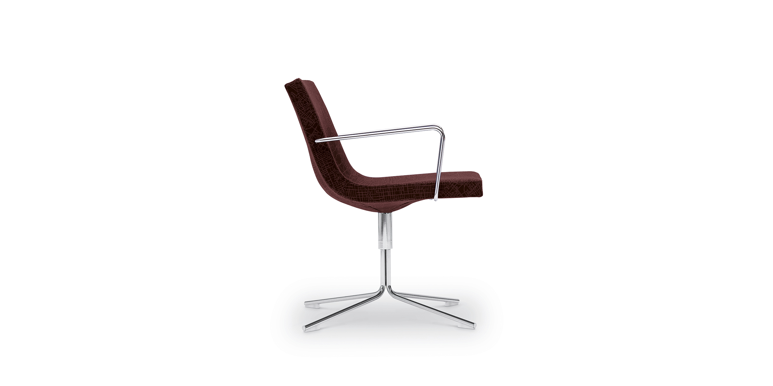 Bond, 4-cross armchair by Jean-Marie Massaud