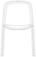Chair, Black net