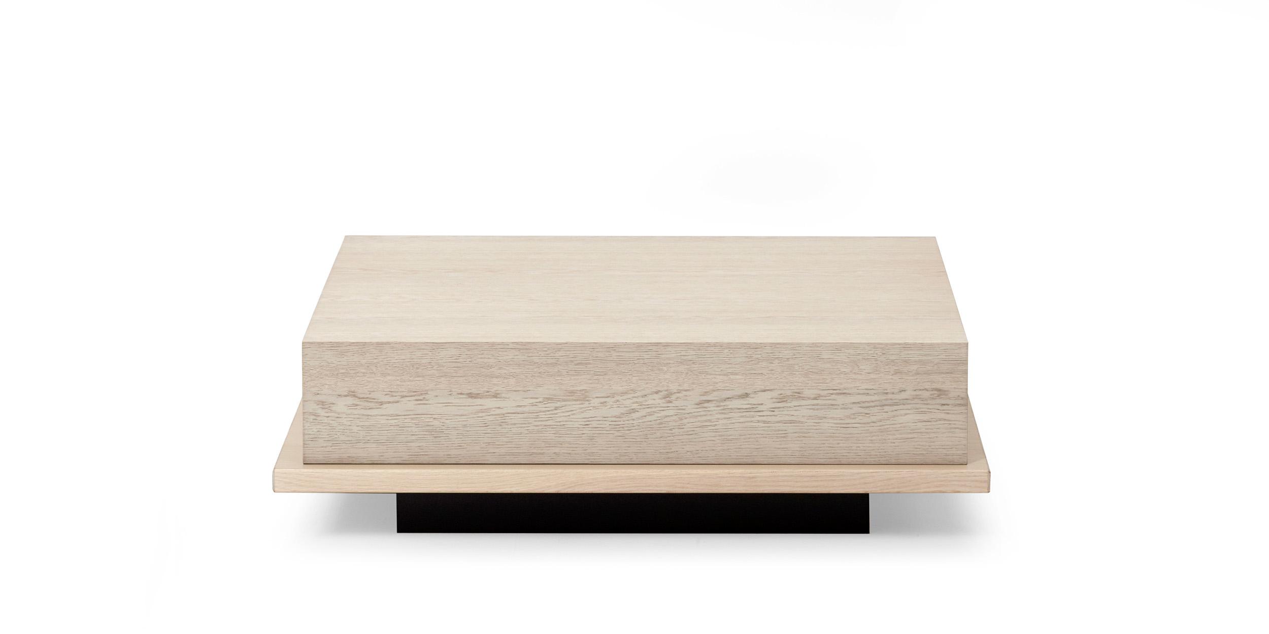 Meet, corner table by Fattorini+Rizzini+Partners