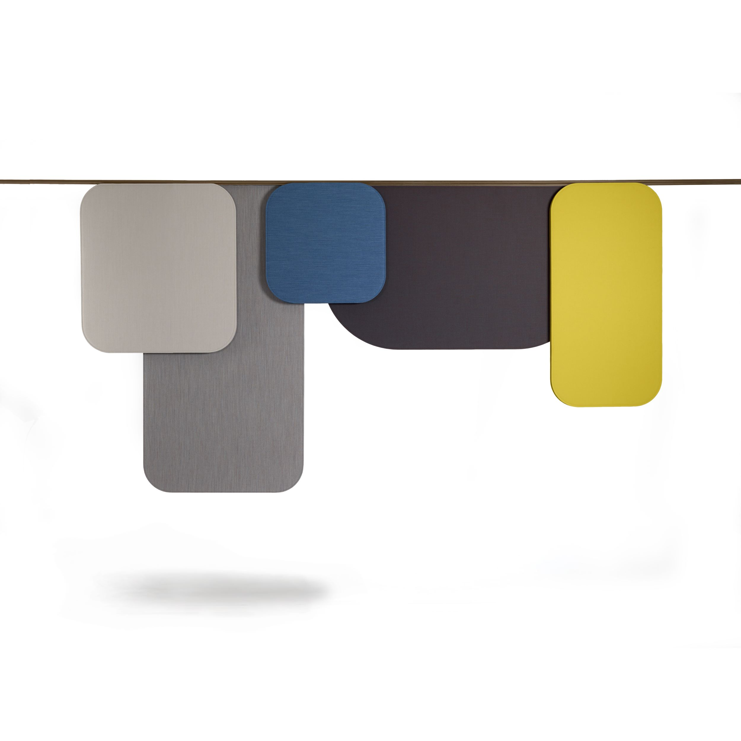 Notes Acoustic panel Sound absorbing Luca Nichetto Offecct