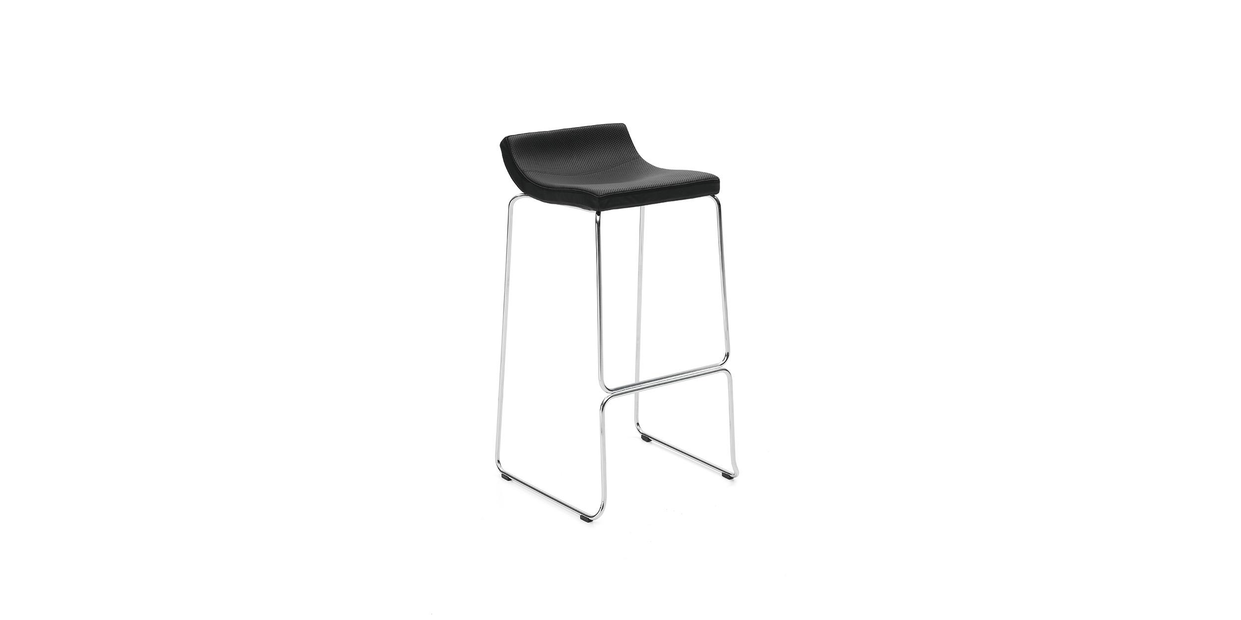 Bond, Bar stool by Jean-Marie Massaud