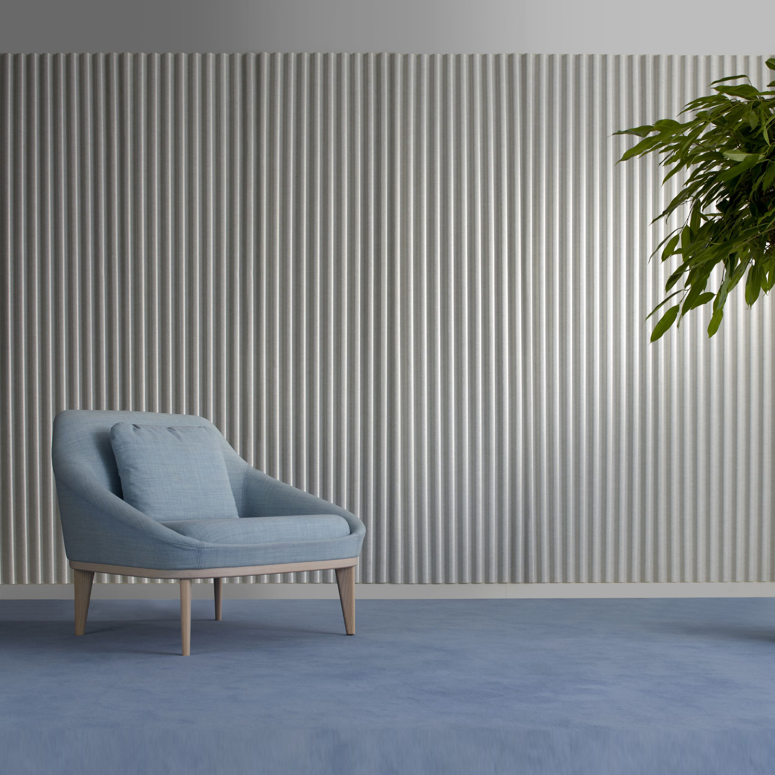 Soundwave 174 Wall Acoustic Panel By Christophe Pillet