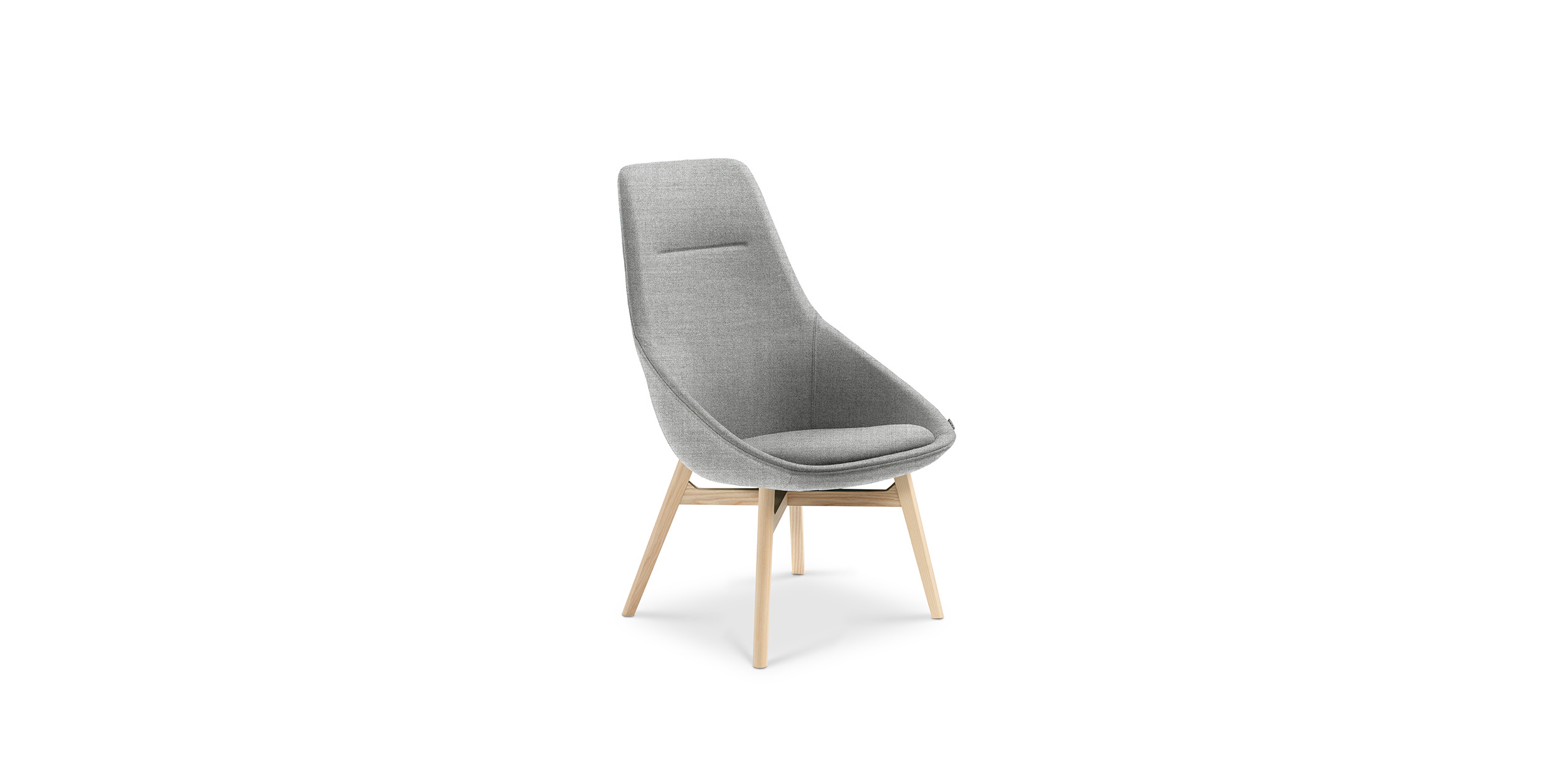 Ezy Wood High, Chair by Christophe Pillet