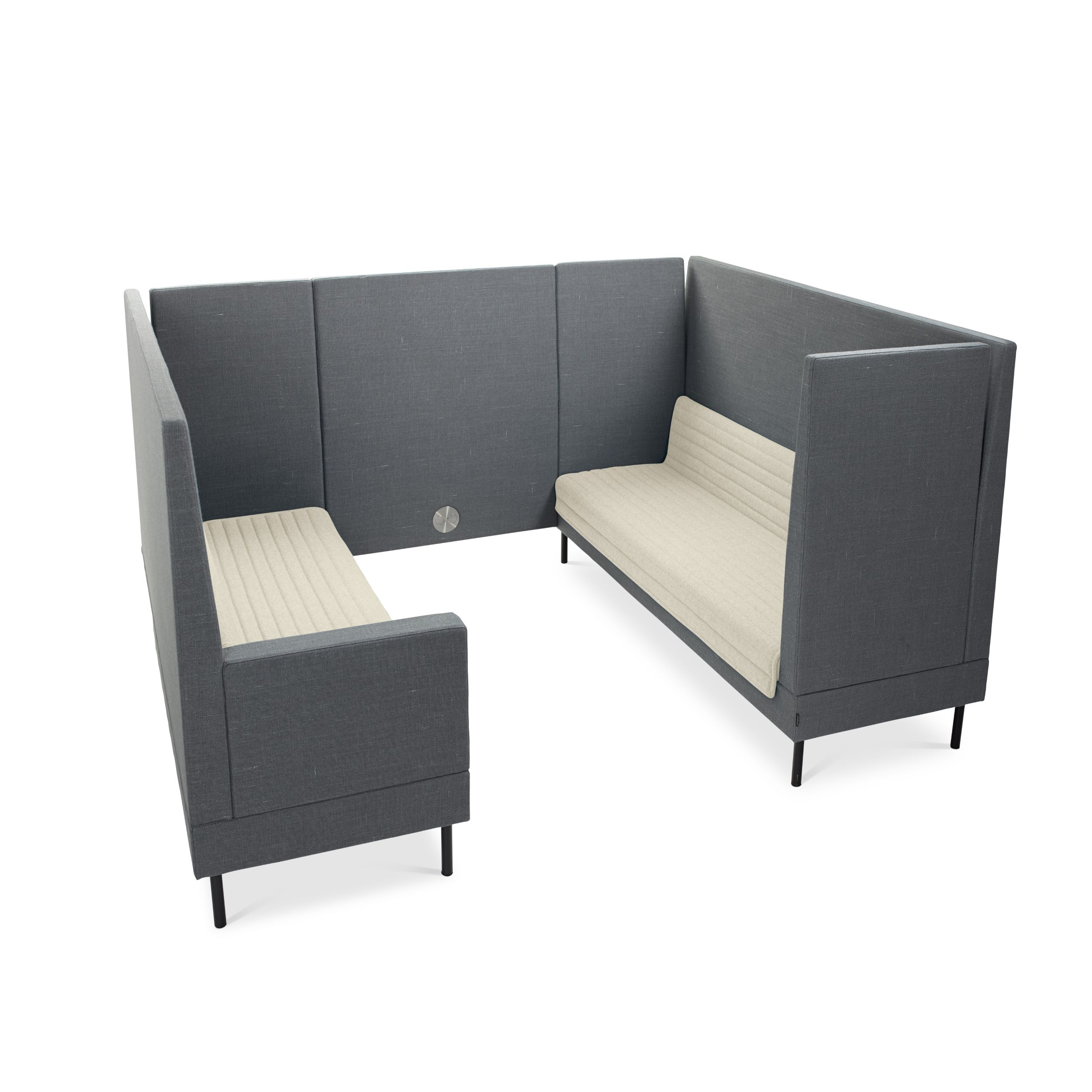 Smallroom Select Sofa With Room Dividers Ineke Hans Offecct - Sofa for a small room