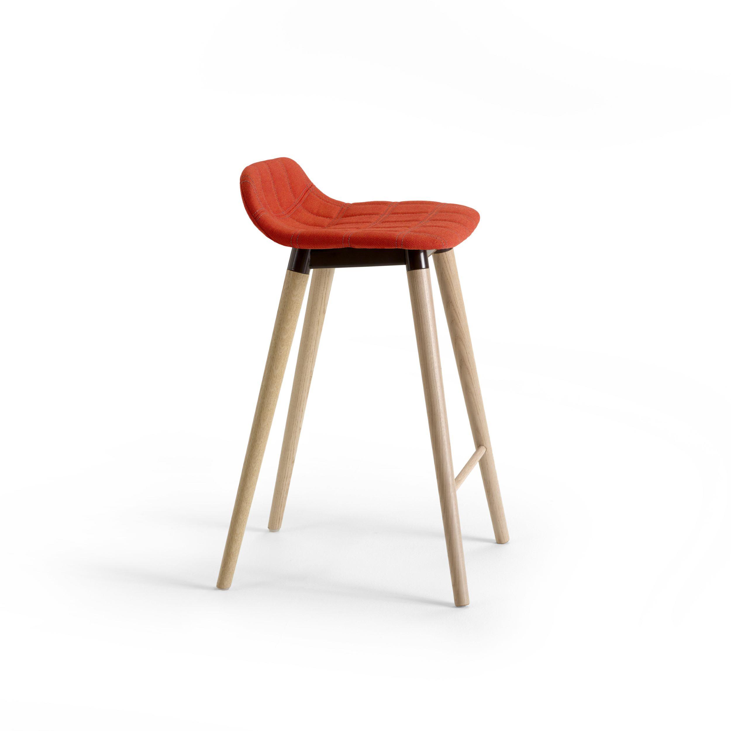 Bop Wood Bar Stool Furniture By Knudsen Berg Hindenes Offecct Offecct