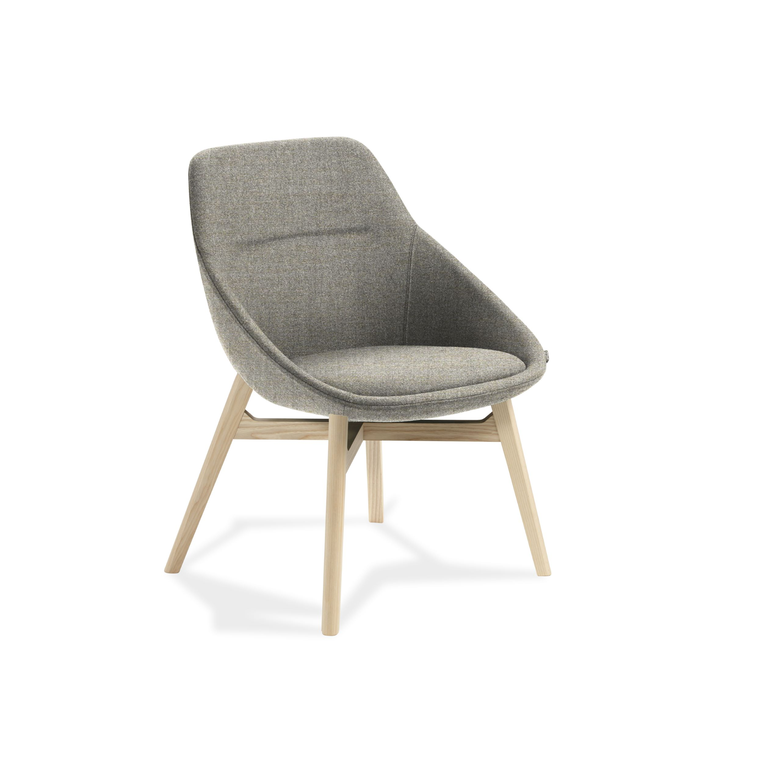 Ezy Wood Low Chair Furniture By Christophe Pillet
