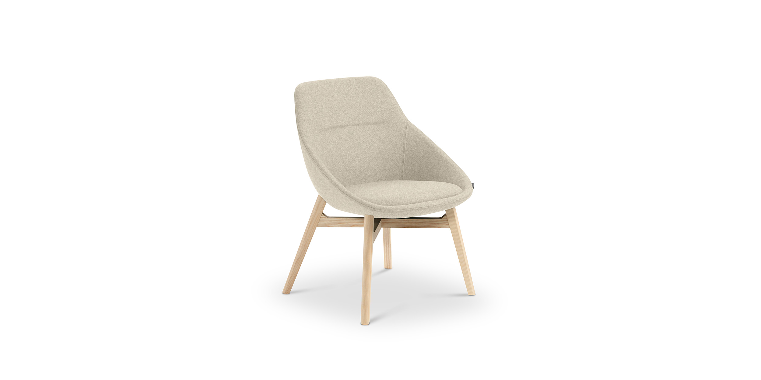 Ezy Wood Low, Chair by Christophe Pillet