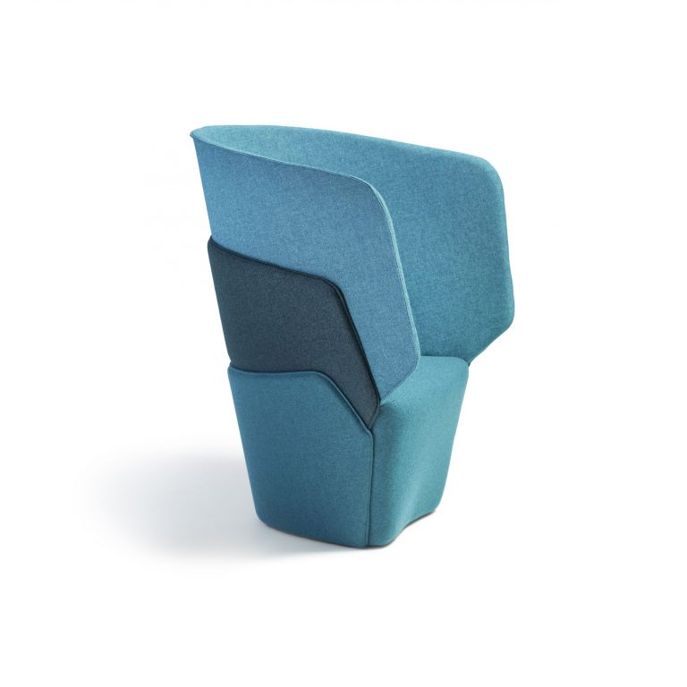 Layer, Easy chair by Läufer + Keichel