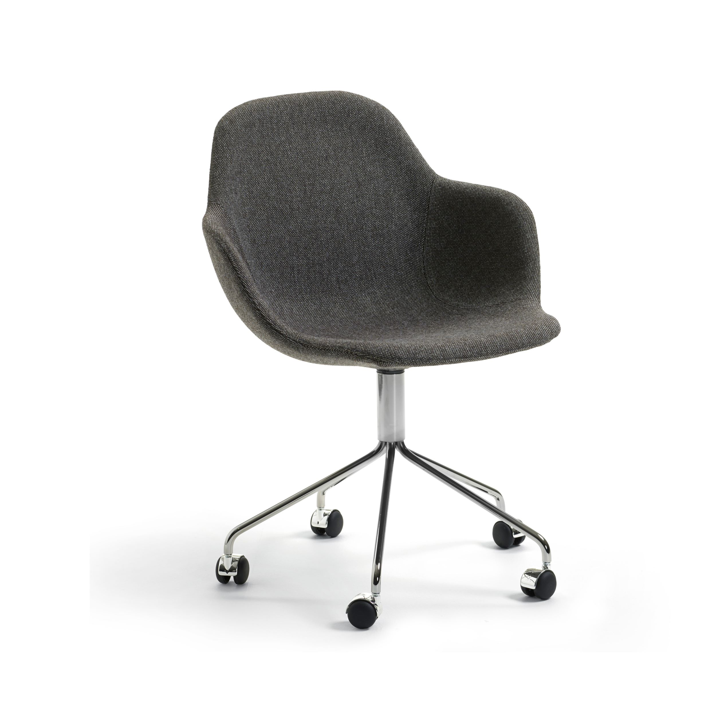 Palma Meeting Chair With Wheels For Offices Khodi Feiz