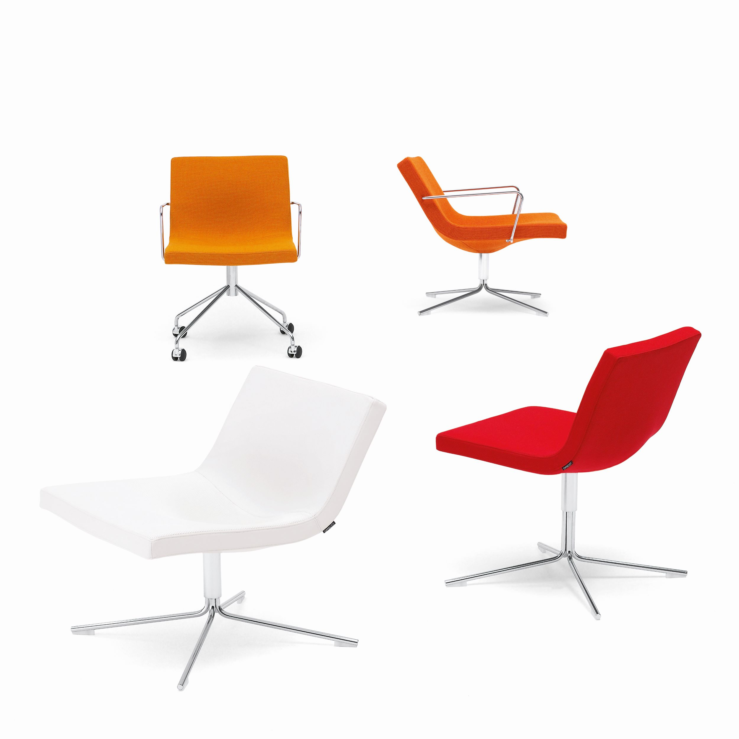 Bond Chair With 4 Wheels Furniture By Jean Marie