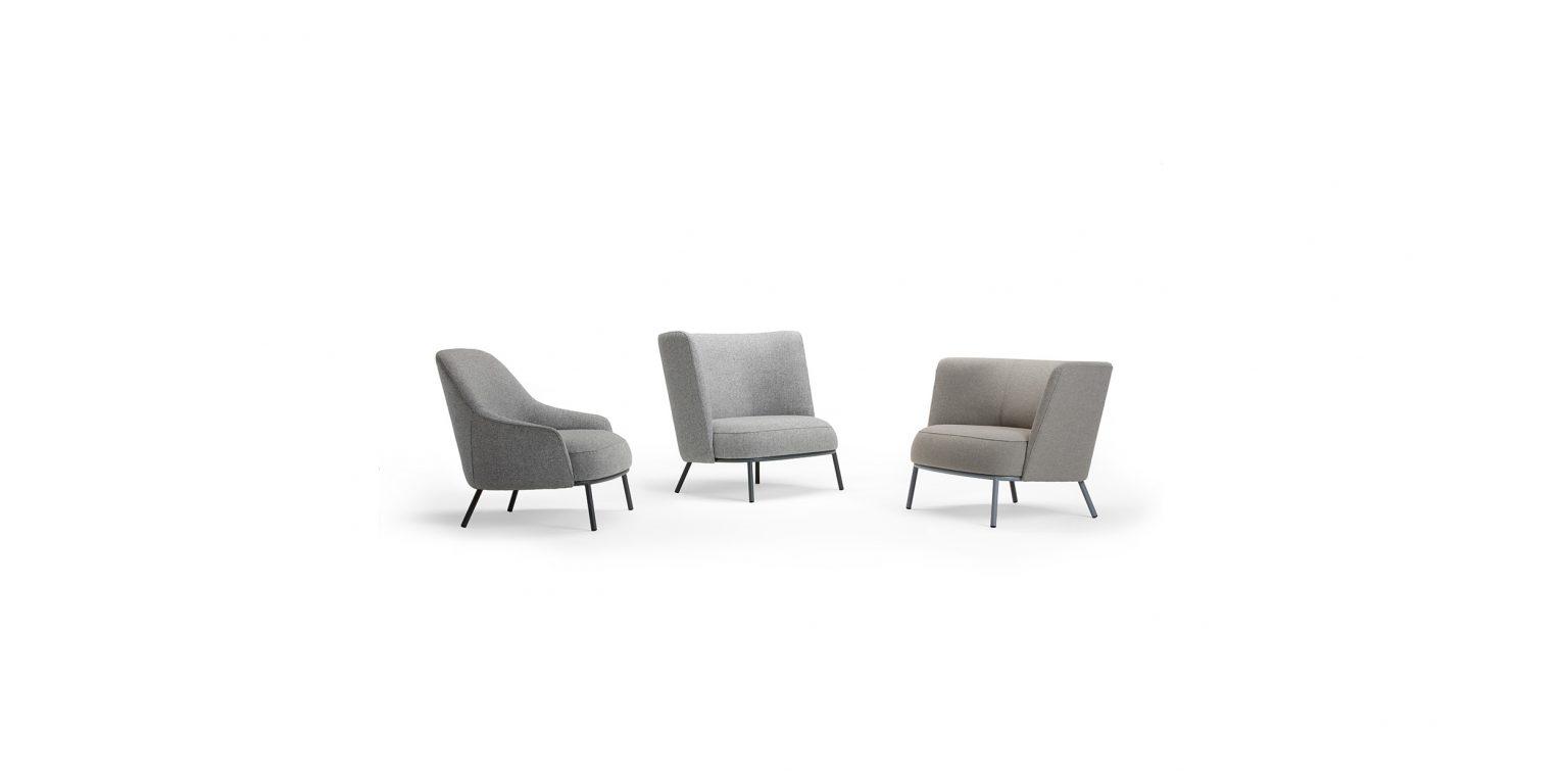 Shift Low, Easy chair by Daniel Debiasi & Federico Sandri