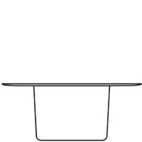 Table Ø1600 mm, height 650 mm, centre module Ø500 mm