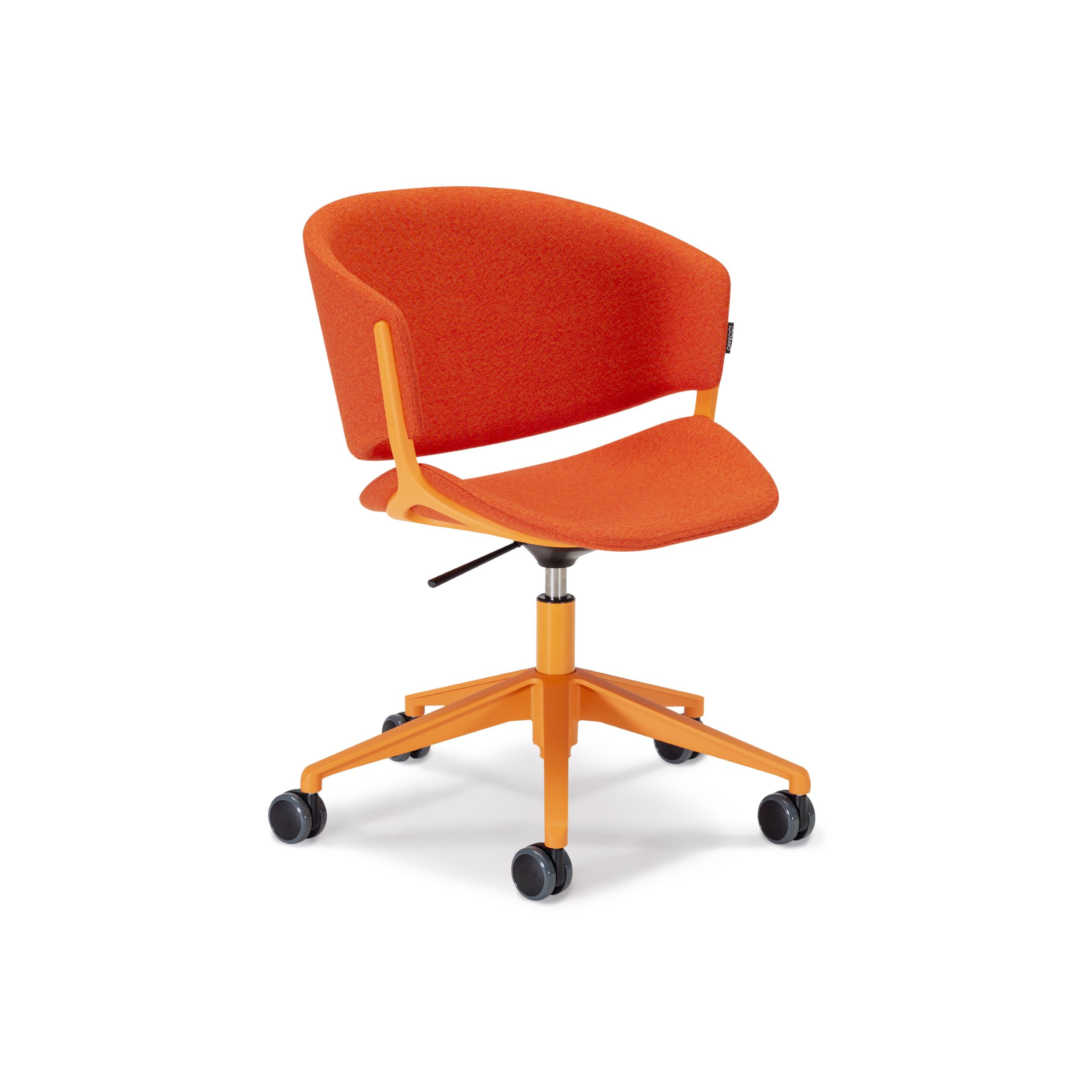 Phoenix Chair With Wheels For Offices Luca Nichetto