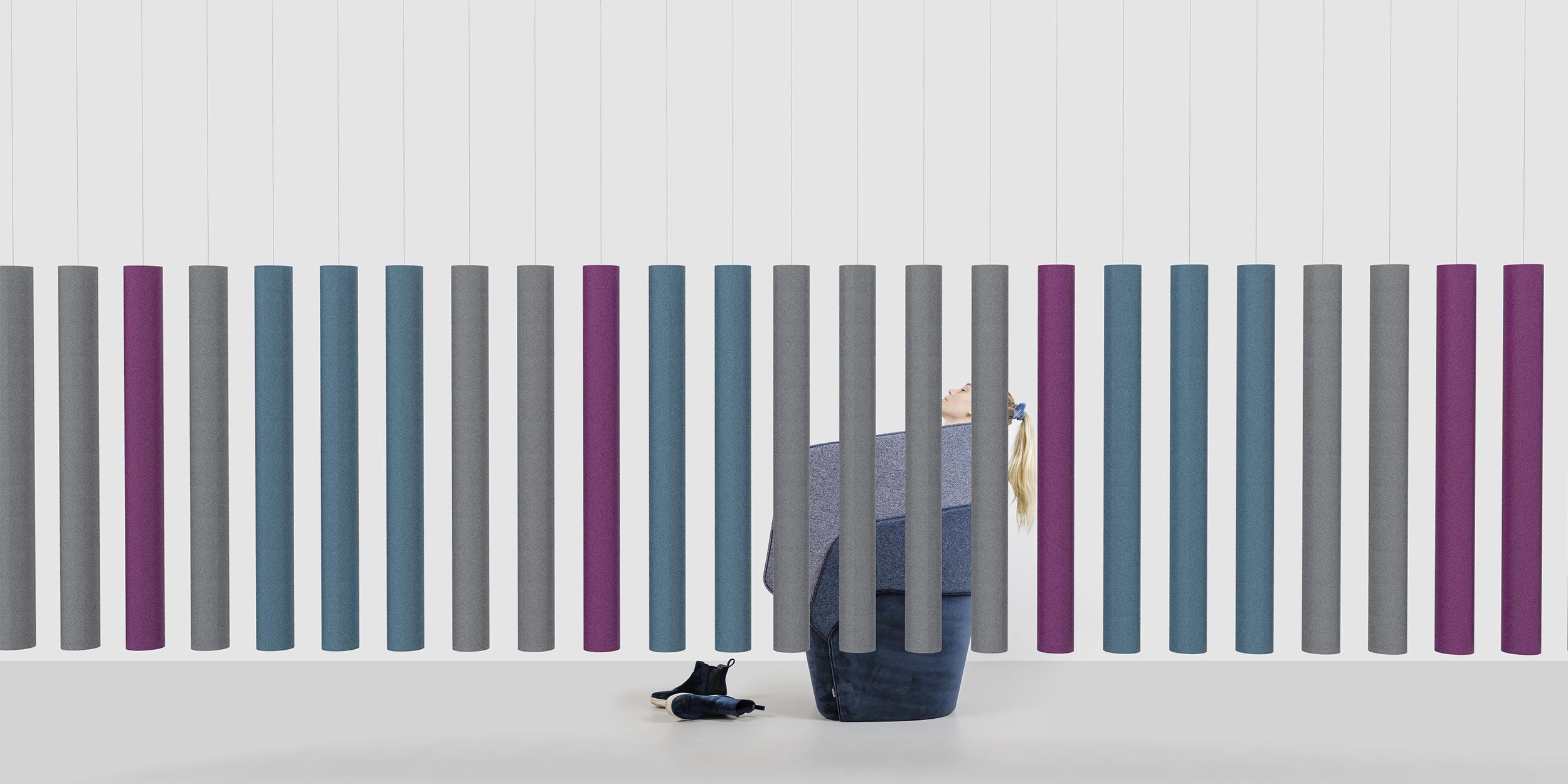 SoundsticksTM, Room divider by Andrea Ruggiero