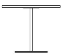 Table Ø1200 mm, height 450 mm