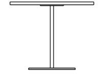 Table 1800 x 700 mm, height 1090 mm