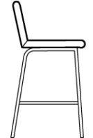 Low, bar stool