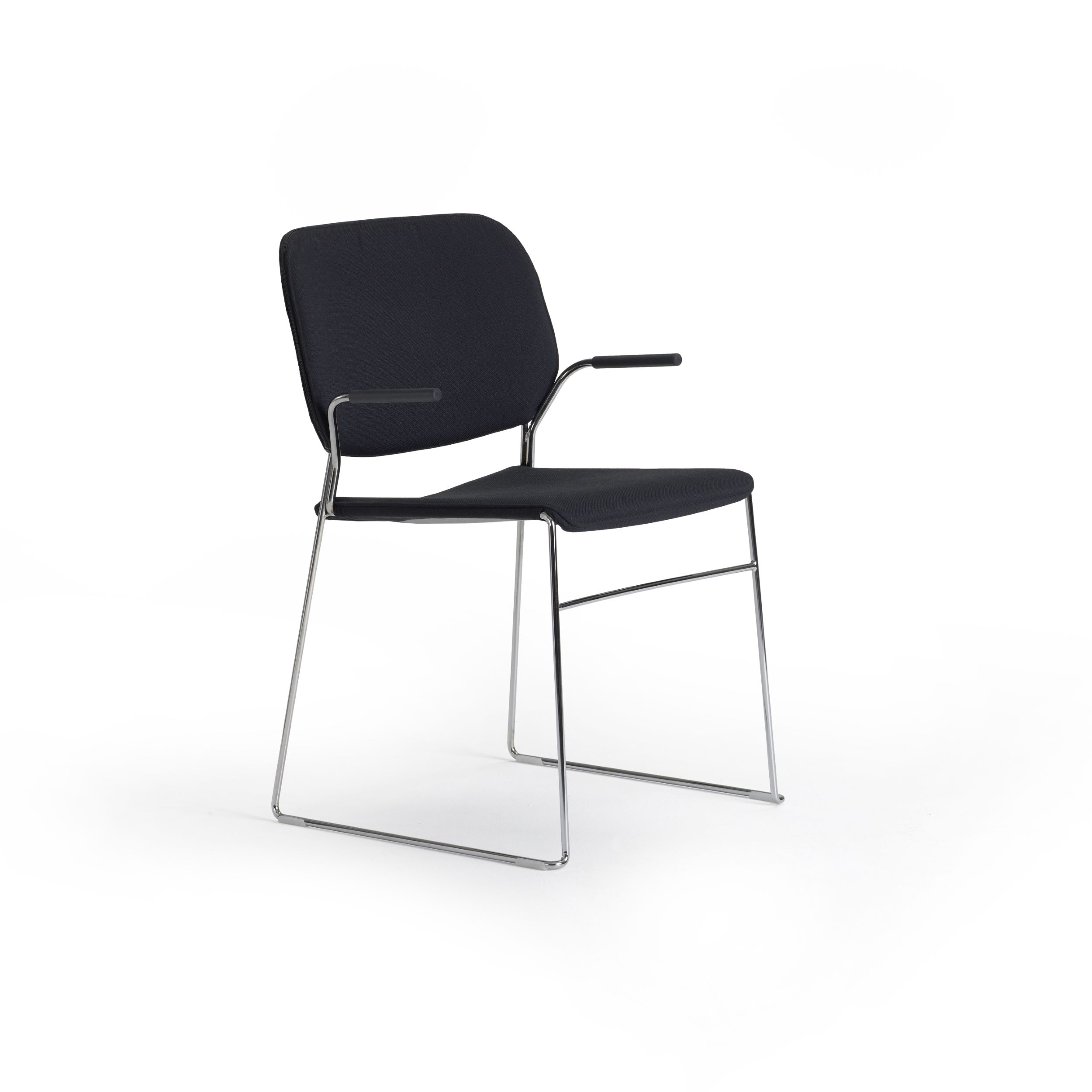 Lite, stackable armchair by Broberg & Ridderstråle